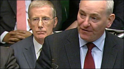 Mark Durkan, the SDLP MP for Foyle (right)
