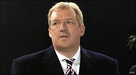 Rangers' principal shareholder Sir David Murray