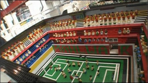 Lego football stadium