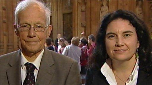 David Winnick MP and Katy Clark MP