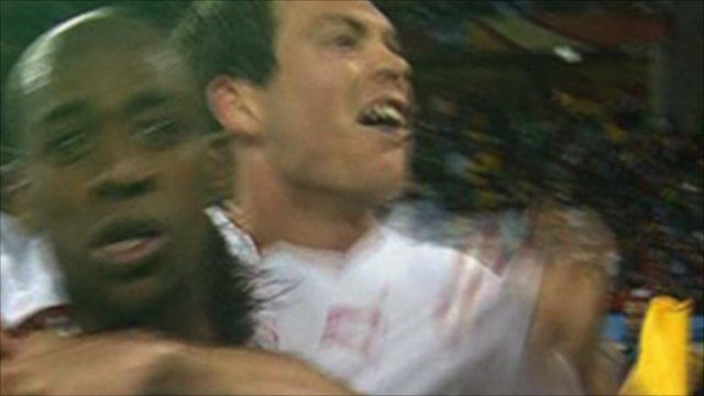 Gelson Fernandes scores for Switzerland