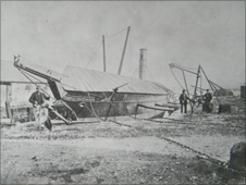 Spencer Wynn's steam yacht, the Vesta