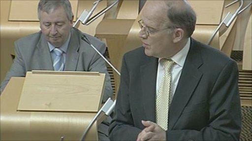 The minister Adam Ingram led the debate