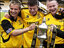 Livingston won the Third Division in May