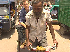 Mohammed Ilyas, cycle-rickshaw wallah