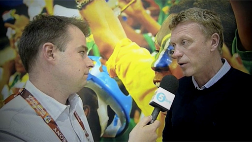 Conor McNamara and David Moyes