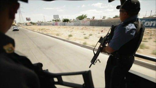 Police in Mexico