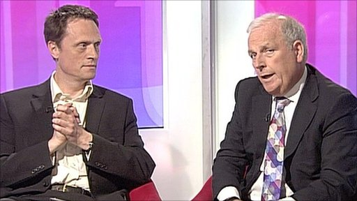 Matthew Taylor and Kelvin Mackenzie