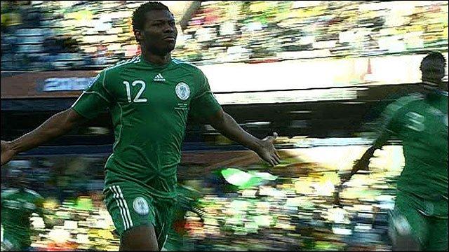 Nigeria's Kalu Uche
