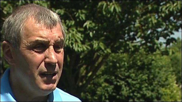 Former goalkeeper Peter Shilton