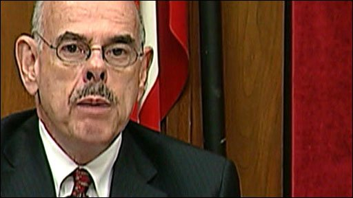 House committee on energy and commerce chairman Henry Waxman