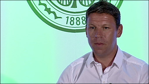 New Celtic coach Alan Thompson