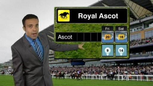 weather royal ascot