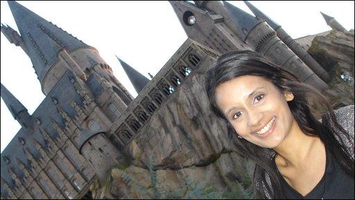 Sonali by Hogwarts