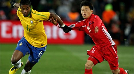 Brazil v North Korea