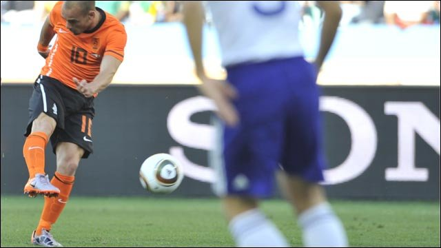 World Cup 2010: Netherlands 1-0 Japan