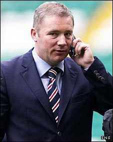 Rangers assistant manager Ally McCoist