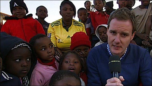 BBC Sport's Dan Walker