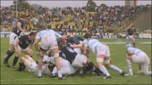 Argentina v Scotland