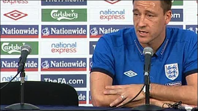 World Cup 2010: John Terry news conference in full