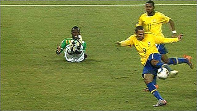 Brazil striker Luis Fabiano