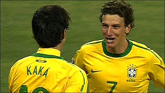 Brazil midfielder Elano