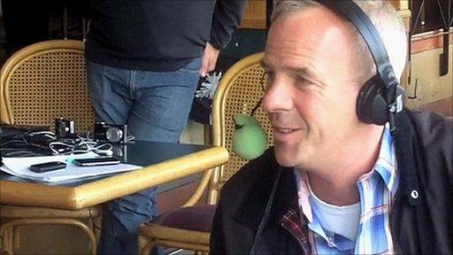 Norman Cook talks to Radio 5 live