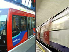 DLR and Tube trains