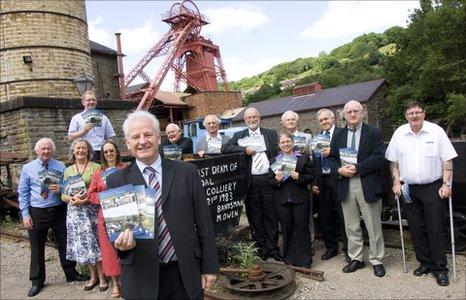 Cllr Robert Bevan launches the Rhondda Cynon Taf Heritage Trail