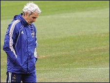 France coach Raymond Domenech