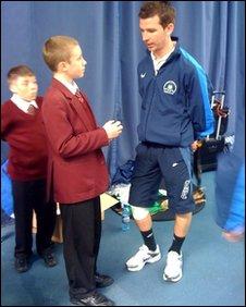 School Reporters, Archbishop Beck Catholic Sports College Community Sport and Tennis Centre, Liverpool, interview  PE teacher