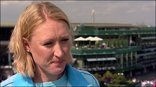 British tennis number one Elena Baltacha