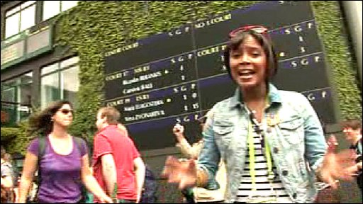 Leah at Wimbledon