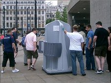 Pee Pod in Manchester