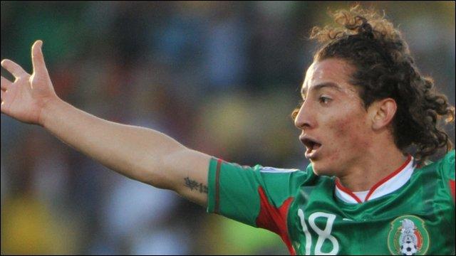 Mexico winger Andres Guardado