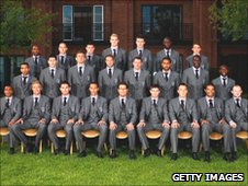 England squad photo