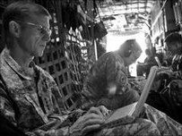 Gen McChrystal in March 2010, the main photo in the Rolling Stone article The Runaway General