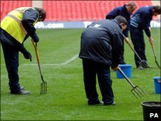 Wembley's pitch