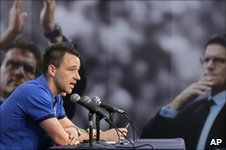 John Terry at his press conference