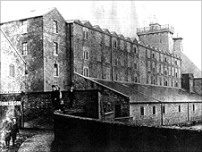 The Grade I listed Ditherington Flax Mill