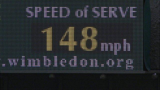Taylor Dent serves up Wimbledon's fastest ever ace