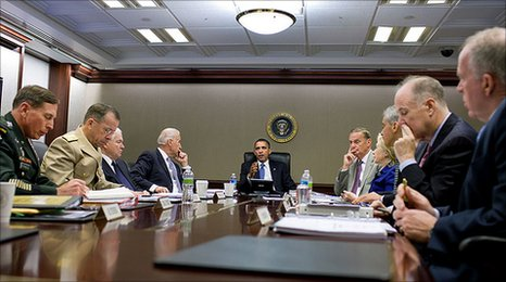 President Obama's national security team