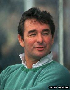 Brian Clough in 1980