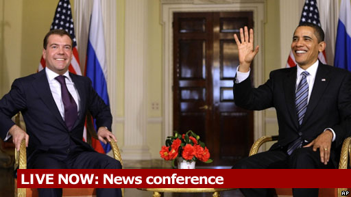 LIVE NOW: Presidents Obama and Medvedev news conference