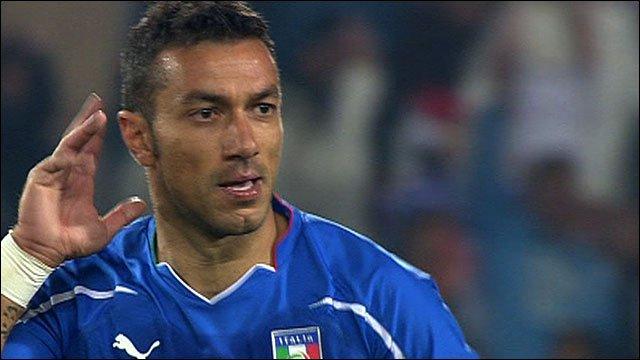 Italy's Fabio Quagliarella