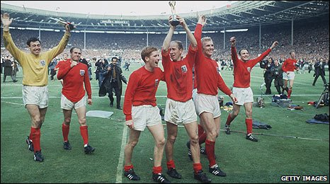 England's triumphant World Cup squad of 1966