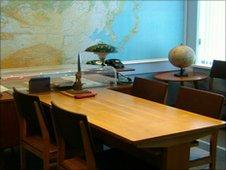 Yuri Gagarin's desk