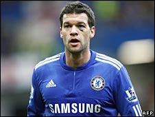 Michael Ballackpictured while playing for Chelsea