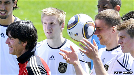 Joachim Loew in training