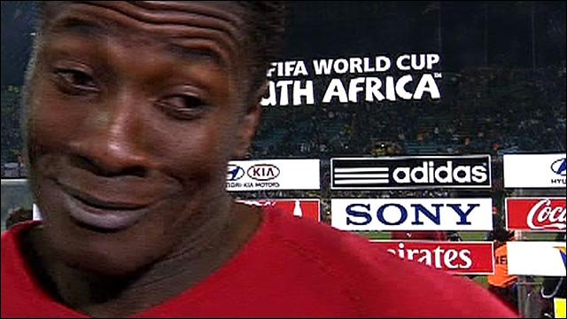 We have made Africa proud - Ghana striker Asamoah Gyan